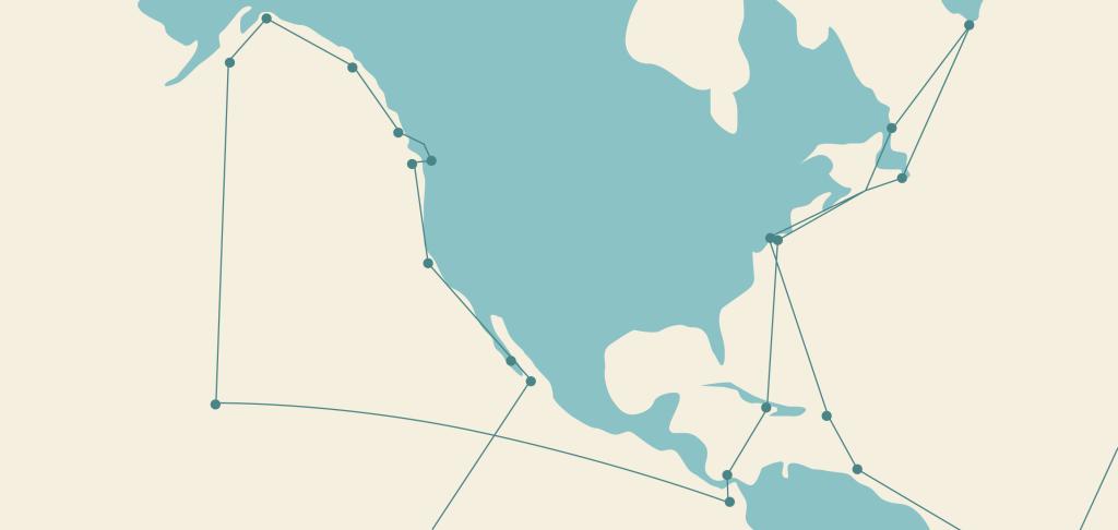 Nord Atlantico e nord Pacifico